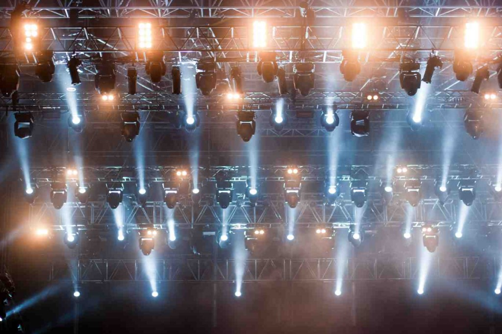 Stage lighting hire in Sussex