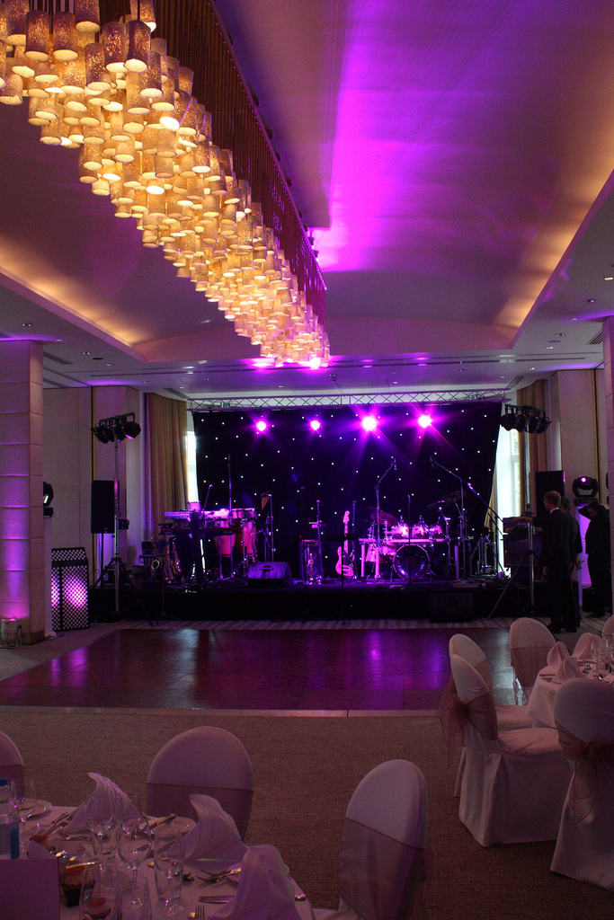 Stage hire and stage lighting available from Monitor Lighting