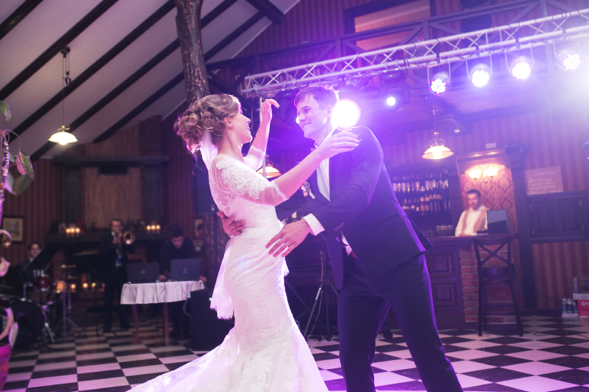 Beautiful wedding dance