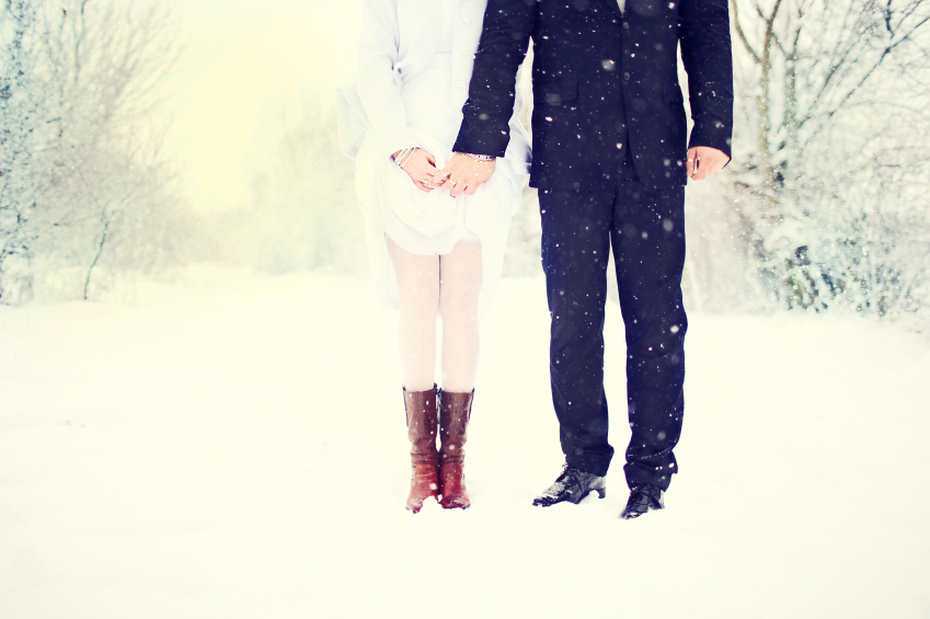 wedding in winter iStock_000023659834_Small